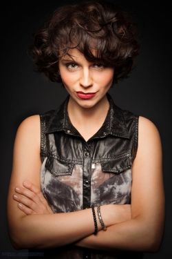Ein Portrait von Denise beim Photowalk-Dresden